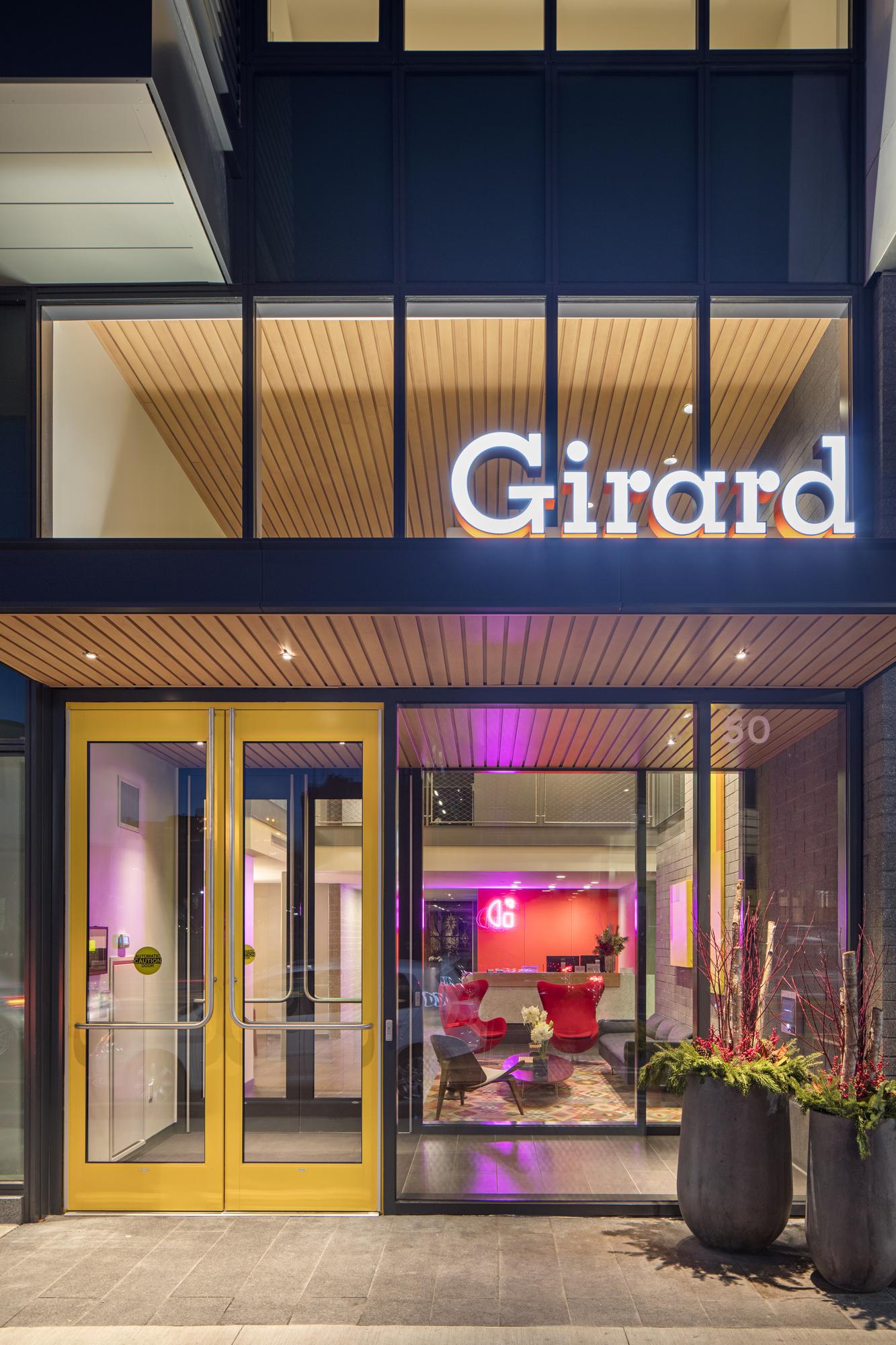 Girard Entrance Detail