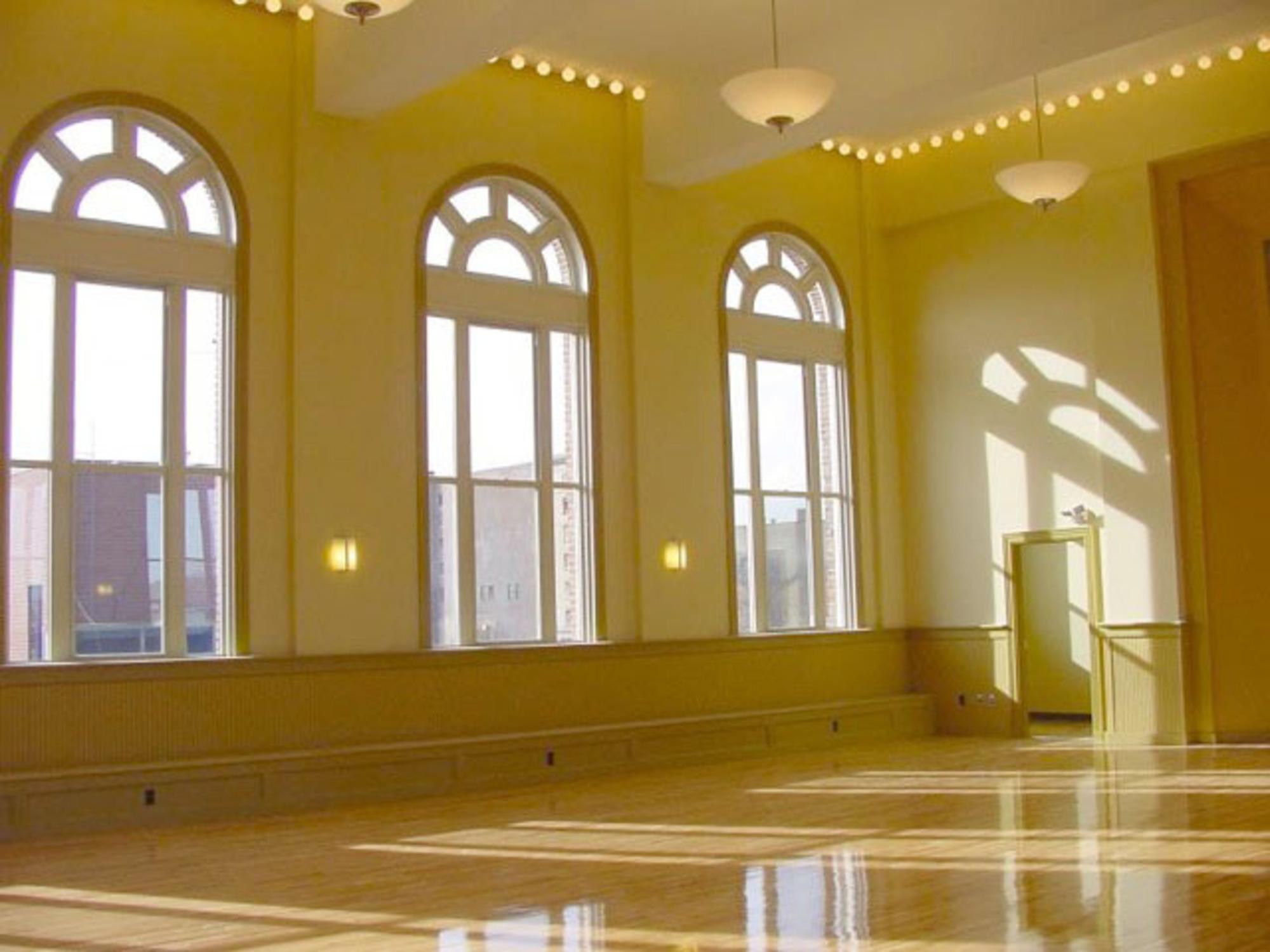 Hibernian Hall - Renovated ballroom